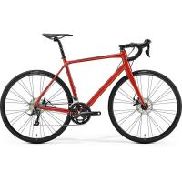 Велосипед Merida SCULTURA Disc 200 Red/Black 2019 SM(52cm)