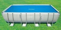 Солнечное покрывало для бассейнов RECTANGULAR FRAME 549X274см INTEX 29026 купить в Абакане по низкой цене